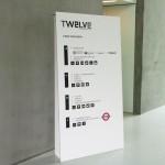 Информационно табло от плоскости от рециклиран картон