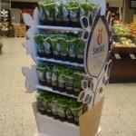 Щанд от рециклиран картон