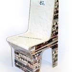 Направено от плоскости от рециклиран картон ReBoard