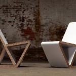 Дизайнерски столове изработени от ReBoard